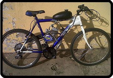 motorised bike joburg