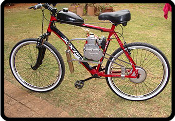 4 stroke motor bicycle