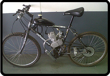 motorized bicycle pretoria